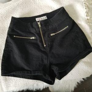 Guess Black Jean shorts